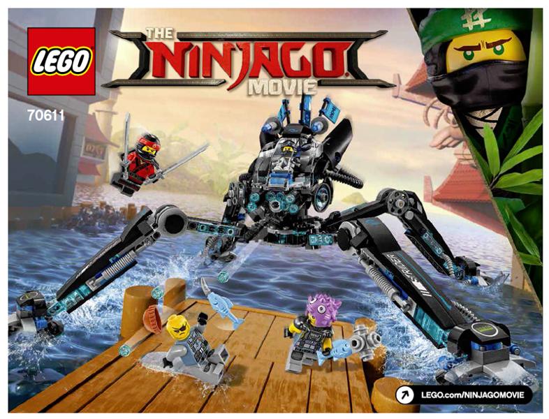 BrickLink - Set 70611-1 : Lego Water Strider [The LEGO Ninjago Movie ...