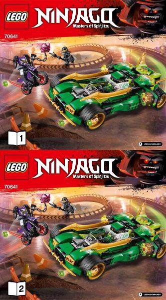 Bricklink Set 70641 1 Lego Ninja Nightcrawler Ninjagosons Of