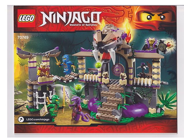 LEGO Ninjago 70749 Enter the Serpent Toy Set New In Box Sealed #70749