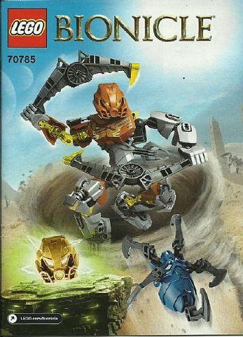 LEGO BIONICLE POHATU MASTER OF STONE 70785 NEW//BOXED//SEALED