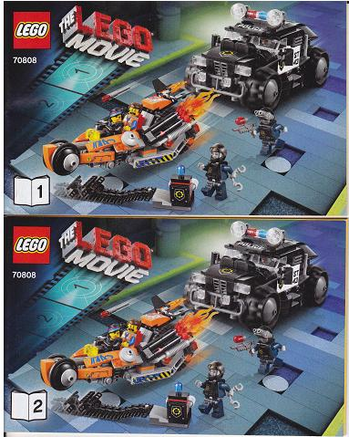 Bricklink Set 70808 1 Lego Super Cycle Chase The Lego Movie Bricklink Reference Catalog