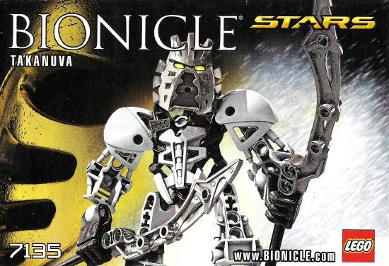 BrickLink - Set 7135-1 : Lego Takanuva [Bionicle:Stars] - BrickLink  Reference Catalog