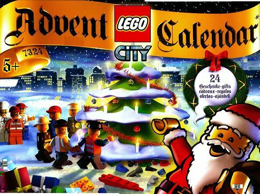 Bricklink Set 7324 1 Lego Advent Calendar 2005 City Holiday