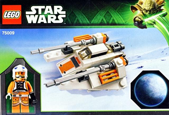BrickLink - Set 75009-1 : Lego Snowspeeder & Planet Hoth [Star ...