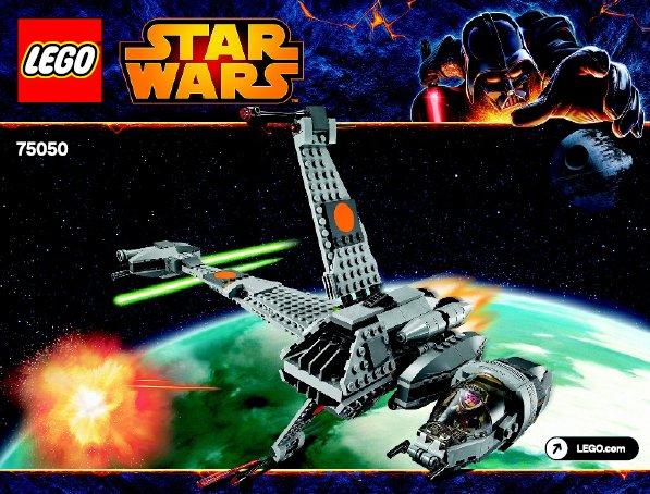 Bricklink Set 75050 1 Lego B Wing Star Warsstar Wars Episode 4
