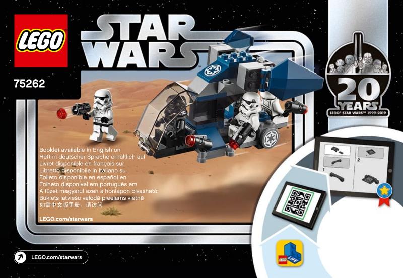 Lego 75262 LEGO Star Wars Imperial Dropship 20th Anniversary Edition 75262 Kit