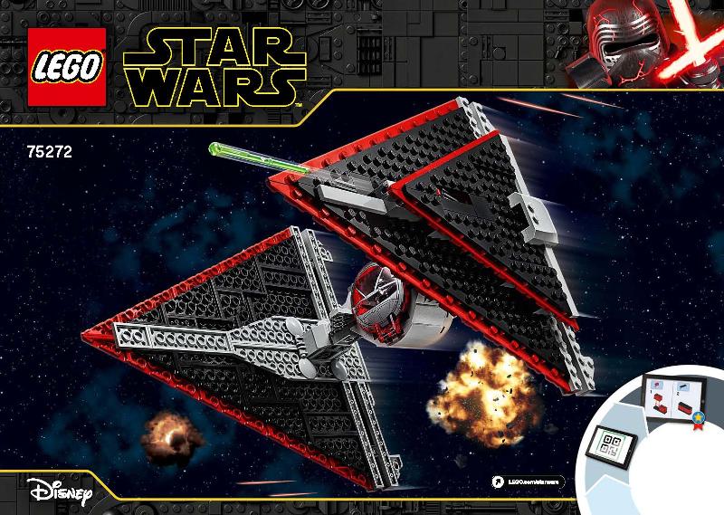 LEGO Star Wars Episode IX 75272 Sith TIE Fighter NEU und OVP