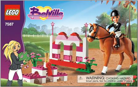 *BRAND NEW* LEGO Belville Horse Jumping 7587