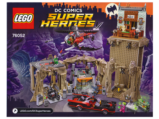 BrickLink - Set 76052-1 : Lego Batman Classic TV Series - Batcave ...
