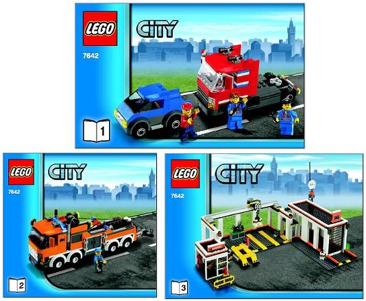 Bricklink Set 7642 1 Lego Garage Towncitytraffic Bricklink