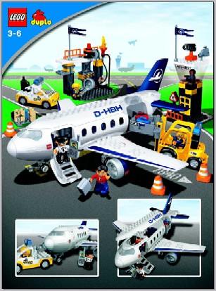 Bricklink Set 7840 1 Lego Airport Action Duploduplo Town