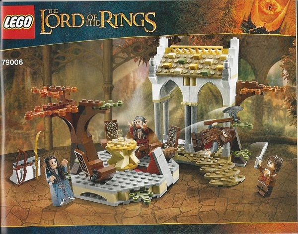 NEW SEALED LEGO 79006 LORD OF THE RINGS THE COUNCIL OF ELROND