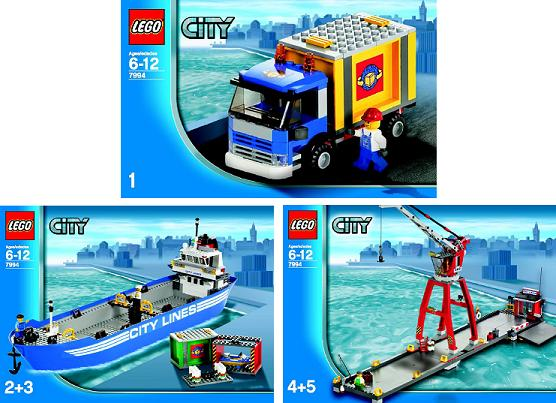 BrickLink - Set 7994-1 : Lego LEGO City Harbor [Town:City:Harbor] -  BrickLink Reference Catalog