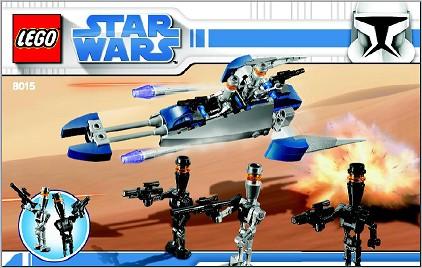 BrickLink - Set 8015-1 : Lego Assassin Droids Battle Pack [Star Wars:Star  Wars Clone Wars] - BrickLink Reference Catalog