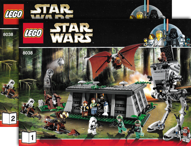 Bricklink Set 8038 1 Lego The Battle Of Endor Star Warsstar