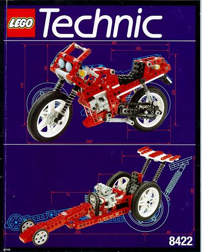Bricklink Set 8422 1 Lego Circuit Shock Racer Technicmodel