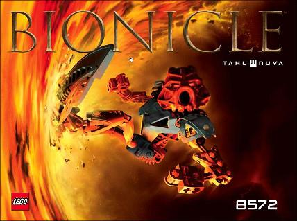 100/% Complete Figure Lego 8572 Bionicle TAHU NUVA Toa Nuva