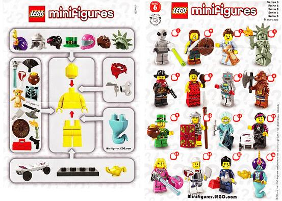 Collectible Minifigures Butcher Series 6 Lego Complete FREE UK POSTAGE