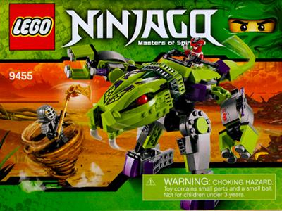 BrickLink - Set 9455-1 : Lego Fangpyre Mech [Ninjago:Rise of the Snakes] -  BrickLink Reference Catalog