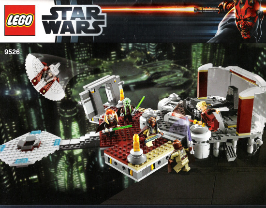 BrickLink - Set 9526-1 : Lego Palpatine's Arrest [Star Wars:Star Wars  Episode 3] - BrickLink Reference Catalog