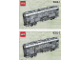 Instruction No: 10025  Name: Santa Fe Cars - Set I (mail or baggage car)