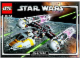 Instruction No: 10134  Name: Y-wing Attack Starfighter - UCS