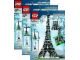 Instruction No: 10181  Name: Eiffel Tower 1:300 Scale