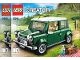 Instruction No: 10242  Name: MINI Cooper - Reissue, Rectangular Box