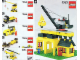 Instruction No: 1053  Name: Community Buildings (LEGO Basic School Set)