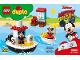 Instruction No: 10881  Name: Mickey's Boat