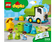 Instruction No: 10945  Name: Garbage Truck and Recycling