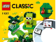 Instruction No: 11007  Name: Creative Green Bricks