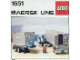 Instruction No: 1651  Name: Maersk Line Container Truck