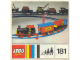 Instruction No: 181  Name: Complete Train Set with Motor, Signals and Switch