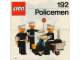 Instruction No: 192  Name: Policemen