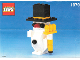 Instruction No: 1979  Name: Snowman polybag
