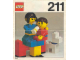 Instruction No: 211  Name: Mother and Baby with Dog