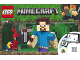 Instruction No: 21148  Name: Minecraft Steve BigFig with Parrot