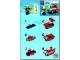 Instruction No: 30001  Name: Fireman's Car polybag