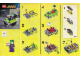 Instruction No: 30303  Name: The Joker Bumper Car polybag