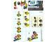 Instruction No: 30389  Name: Fuzzy & Mushroom Platform - Expansion Set polybag