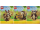 Instruction No: 31019  Name: Forest Animals