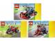 Instruction No: 31030  Name: Red Go-Kart