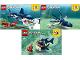 Instruction No: 31088  Name: Deep Sea Creatures
