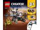 Instruction No: 31107  Name: Space Rover Explorer