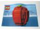 Instruction No: 3300000  Name: The Brick Apple (LEGO Store Grand Opening Set, Rockefeller Center, New York, NY) polybag