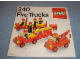 Instruction No: 340  Name: Fire Trucks