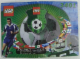 Instruction No: 3401  Name: Shoot 'n' Score - with ZIDANE / Adidas Minifigure