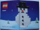 Instruction No: 40003  Name: Snowman polybag