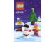 Instruction No: 40008  Name: Snowman Building Set polybag